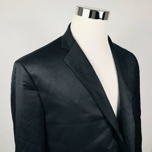Brooks Brothers 46L Regent Suit Jacket Black Wool